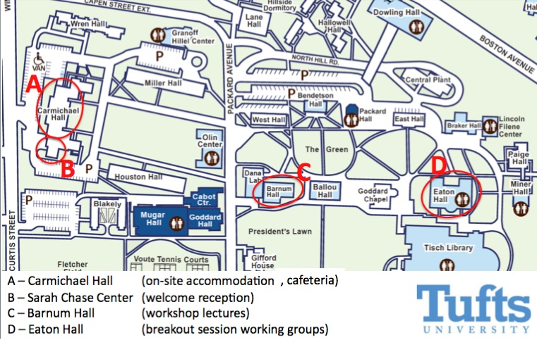 Tufts Medford Campus Map.Ccsb Workshop On Systems Biology Of Tumor Metronomics Timing And